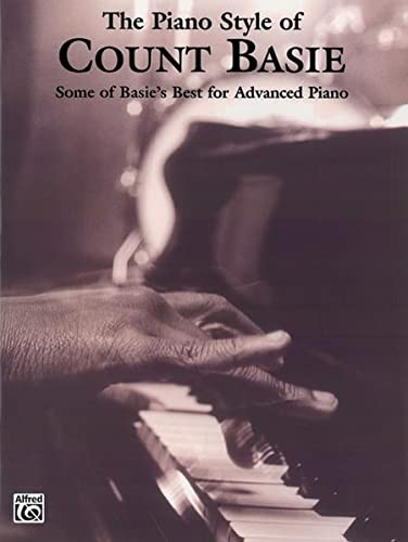The Piano Style Of Count Basie Book For Advanced Piano