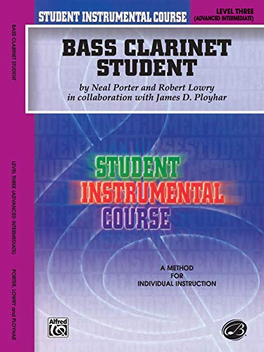 9780757903588: Student Instrumental Course Bass Clarinet Student: Level III
