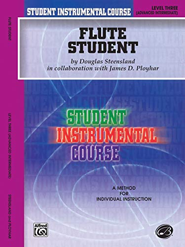 9780757903625: Student Instrumental Course Flute Student: Level III