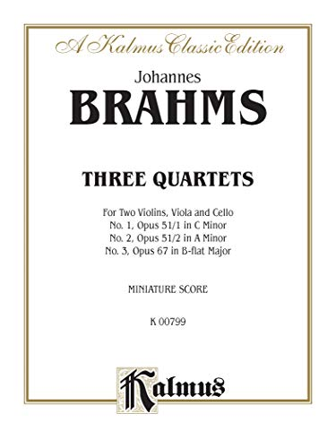 String Quartets Op. 51, Nos. 1 2,