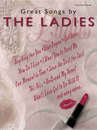 9780757903687: Great Songs by the Ladies: Piano/Vocal/Chords