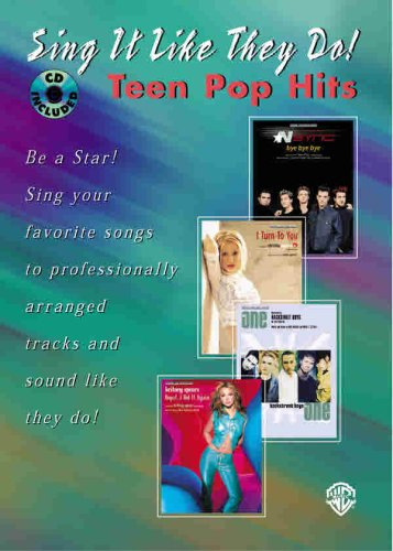 9780757904271: Sing It Like They Do! Teen Pop Hits (Book & CD)