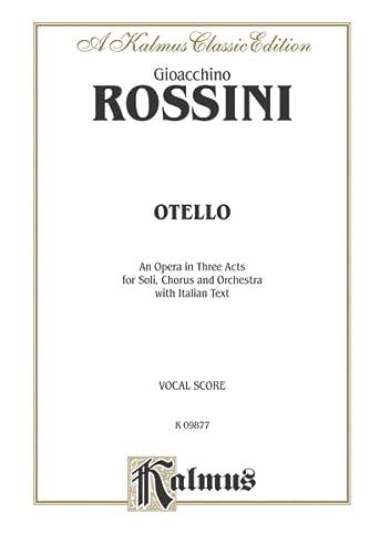 9780757905087: Otello: Kalmus Classic Edition, Vocal Score