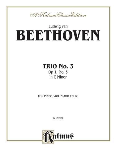 9780757905193: Piano Trio No. 3 -- Op. 1, No. 3: C Minor (Kalmus Edition)