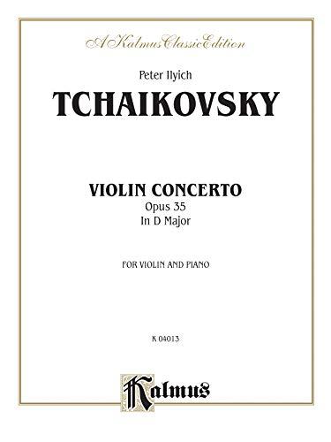 9780757905292: Violin Concerto, Op. 35 (Kalmus Edition)