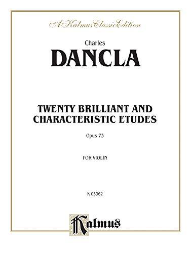 9780757905414: Twenty Brilliant and Characteristic Etudes, Op. 73 (Kalmus Edition)