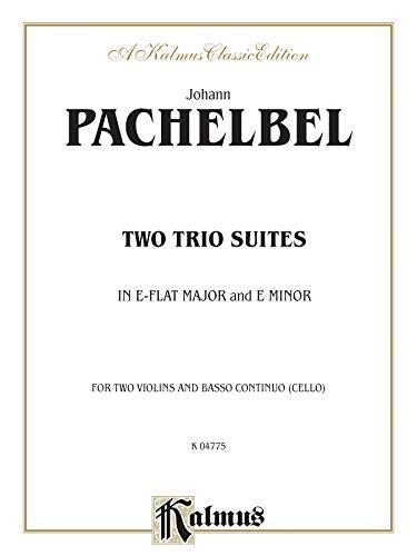 9780757905483: Two Trio Suites (Kalmus Edition)