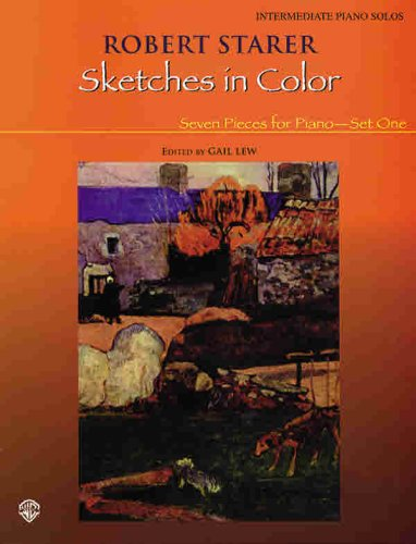 9780757905742: Sketches in Color -- Seven Pieces for Piano: Set 1
