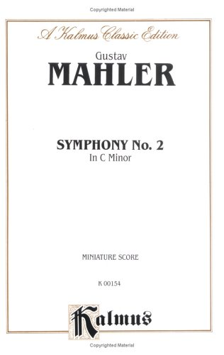 9780757906152: Symphony No. 2 in C Minor: Miniature Score (Miniature Score) (Kalmus Edition)