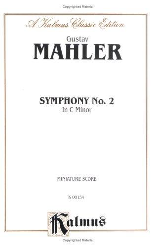 9780757906152: Symphony No. 2 in C Minor: Miniature Score (Miniature Score) (Kalmus Edition)