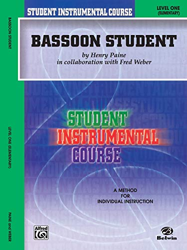 9780757907098: Student Instrumental Course Bassoon Student: Level I