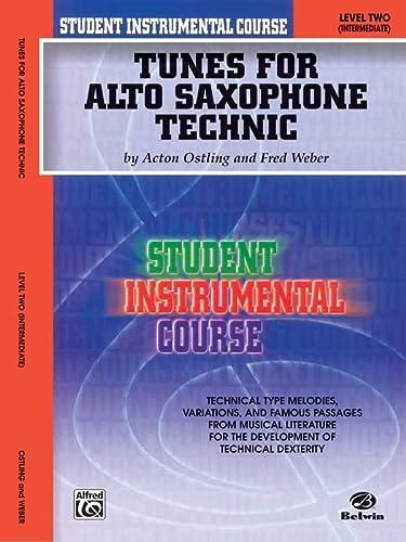 9780757907128: Student Instrumental Course Tunes for Alto Saxophone Technic: Level II