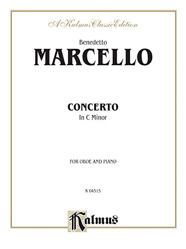 9780757907777: Concerto in C Minor: Part(s) (Kalmus Edition)