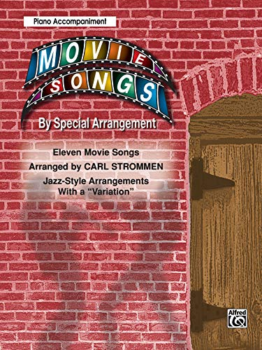9780757907876: Movie Songs by Special Arrangement (Jazz-Style Arrangements with a
