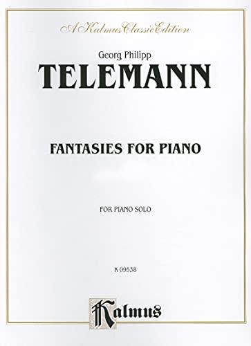 9780757907913: Fantasies for Piano (Kalmus Edition)