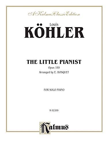 9780757908378: The Little Pianist, Op. 189 (A Kalmus Classic Edition)