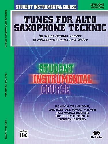 9780757908590: Student Instrumental Course Tunes for Alto Saxophone Technic: Level I