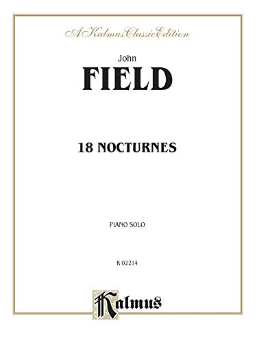 9780757909207: 18 Nocturnes (Kalmus Edition)