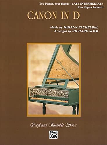 9780757909214: Canon in D: Sheet (Keyboard Ensemble)