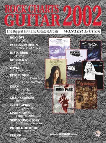 9780757909221: Rock Charts Guitar 2002 Winter Edition