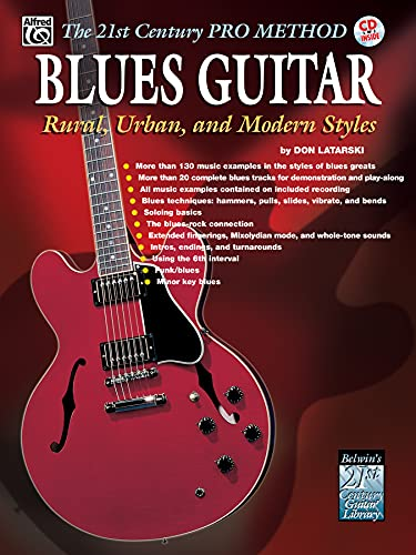 9780757909993: The 21st Century Pro Method: Blues Guitar -- Rural, Urban, and Modern Styles, Spiral-Bound Book & CD