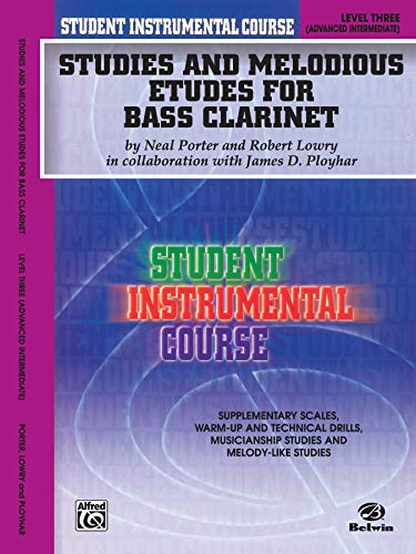 Student Instrumental Course Studies and Melodious Etudes: Porter, Neal, Lowry,