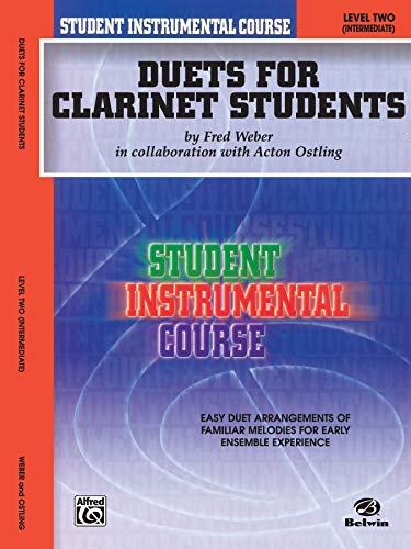 9780757910326: Duets for Clarinet Students, Level II