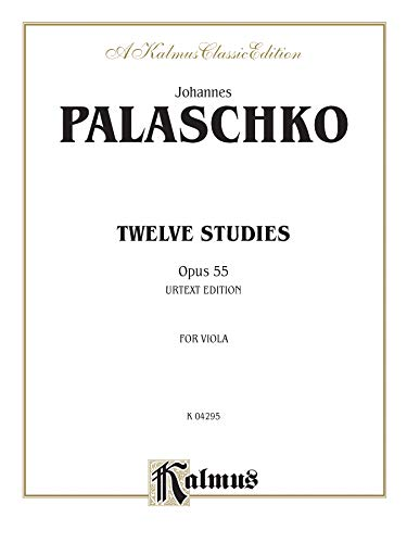 9780757910494: Twelve Studies, Op. 55 (Kalmus Edition)