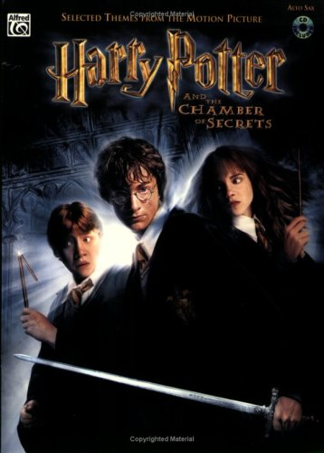 9780757910852: Selected Themes from the Motion Picture Harry Potter and the Chamber of Secrets: Alto Sax, Book & CD
