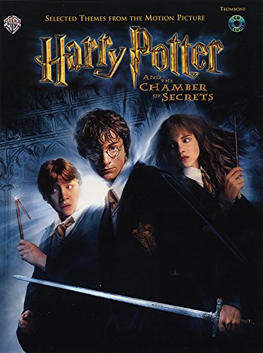 9780757910890: Selected Themes from the Motion Picture Harry Potter and the Chamber of Secrets: Trombone, Book & CD