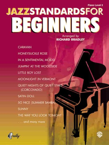 9780757911675: JAZZ STANDARDS FOR BEGINNERS EASY PIANO