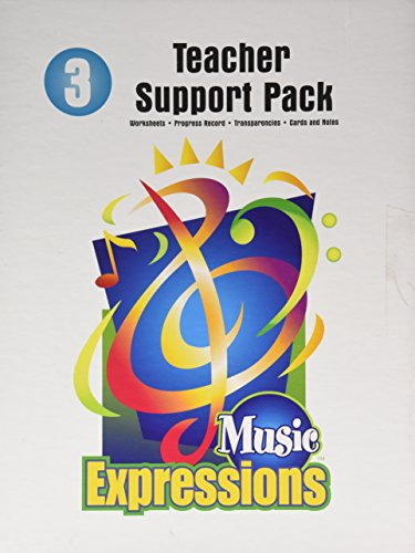 9780757911811: Music Expressions: Grade 3 Teacher Support Pack