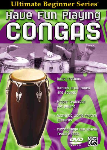 9780757912016: Ultimate Beginner Have Fun Playing Congas: DVD