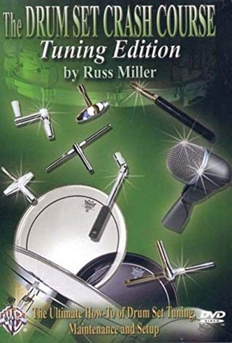 9780757912047: The Drum Set Crash Course, Tuning Edition: The Ultimate How-To of Drum Set Tuning, Maintenance, and Setup, DVD