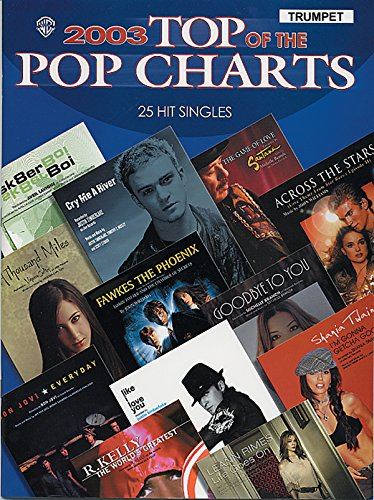 2003 Top of the Pop Charts --: Alfred Publishing