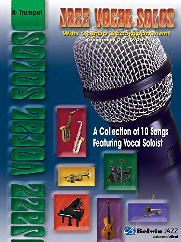 9780757912283: Jazz Vocal Solos with Combo Accompaniment: B-flat Trumpet