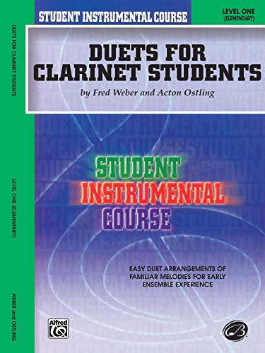 9780757912467: Student Instrumental Course, Duets for Clarinet Students, Level I