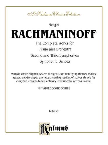 Complete Works for Piano and Orchestra: Second and Third Symphonies, Symphonic Dances (Miniature ...