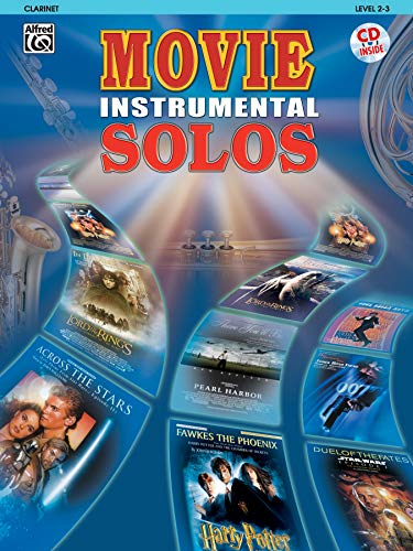 Movie Instrumental Solos: Clarinet, Book & CD: Alfred Music