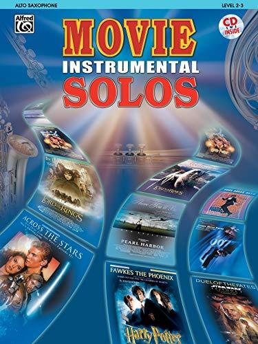 9780757913082: Movie Instrumental Solos: Alto Saxophone, Book & CD