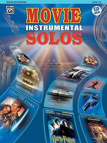 9780757913099: Movie Instrumental Solos: Tenor Saxophone, Book & CD