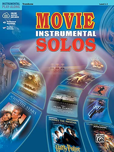 9780757913105: Movie Instrumental Solos: Trombone, Book and CD (Level 2-3)