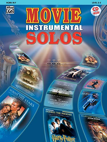 9780757913112: Movie Instrumental Solos: Horn in F, Book & CD
