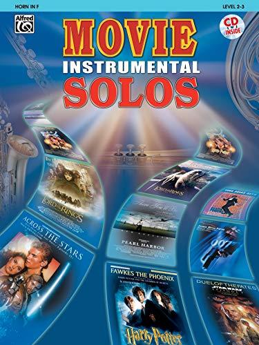 9780757913112: Movie Instrumental Solos: Horn in F, Book & CD