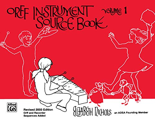 9780757913235: Orff Instrument Source Book, Vol 1: Comb Bound Book