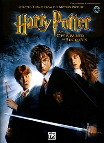 9780757913419: Selected Themes from the Motion Picture Harry Potter and the Chamber of Secrets for Strings: Violin (with Piano Acc.) (Book & CD)