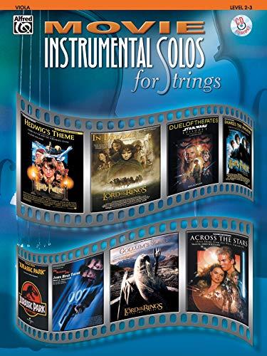 9780757914188: Movie Instrumental Solos for Strings: Viola, Book & CD