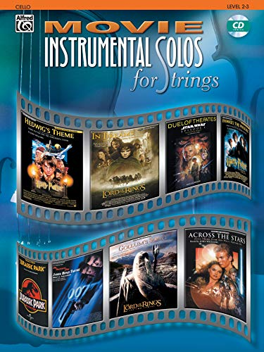 9780757914195: Movie Instrumental Solos for Strings: Cello