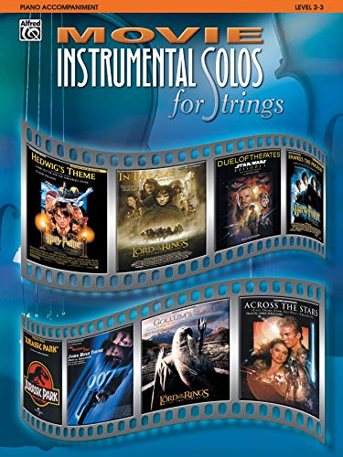 Movie Instrumental Solos for Strings: Piano