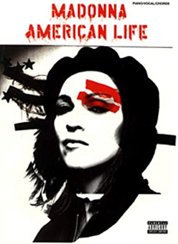 9780757914423: Partition : Madonna American Life Piano/Vocal/Chords